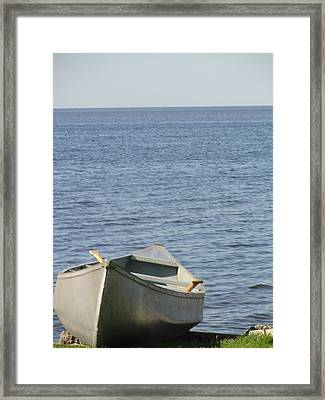 Framed Print featuring the photograph Canoe by Tiffany Erdman