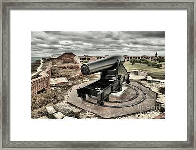 Canon Fire 360 Framed Print by Adam Jewell