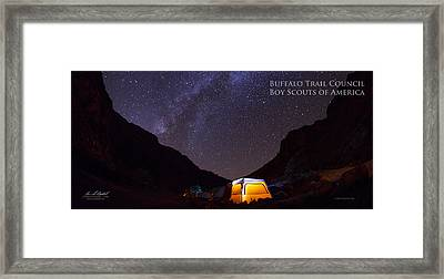 Canopy Of Stars - Pano Framed Print