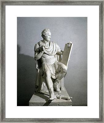 Canova Antonio, Portrait Of George Framed Print
