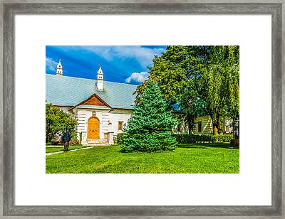 Cantatory Chambers Framed Print by Alexander Senin