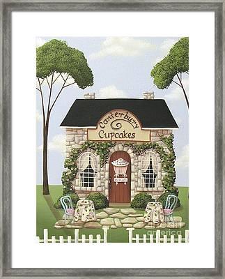 Canterbury Cupcakes Framed Print