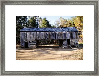 Cantilever Barn Framed Print