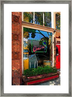 Cantina Framed Print