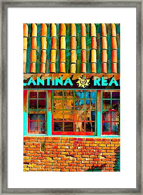 Cantina Real Gone Framed Print