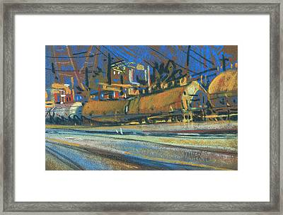 Canton Tracks Framed Print by Donald Maier
