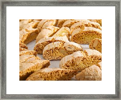 Cantuccini Cookies Framed Print