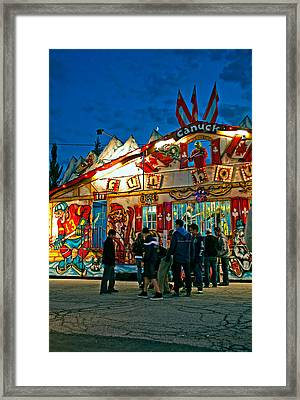 Canuck Fun House Framed Print