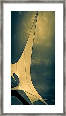 Canvas Sky Framed Print by Bob Orsillo