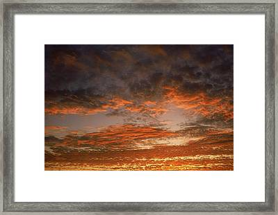 Canvas Sky Framed Print
