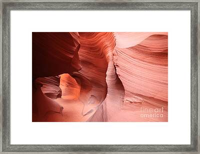 Canyon Angel Framed Print by Adam Jewell