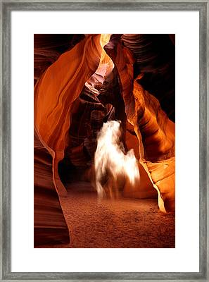Canyon Apparition Framed Print by Joseph Rossbach