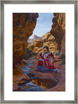Canyon Cathedral Framed Print