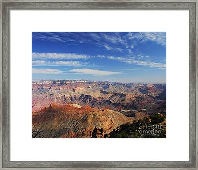 Canyon Colors 1 Framed Print by Mel Steinhauer