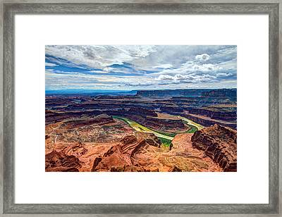 Canyon Country Framed Print by Chad Dutson