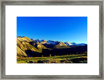 Framed Print featuring the photograph Canyon Creek  by Kevin Bone