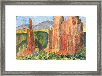 Canyon De Chelly Fantasy Framed Print