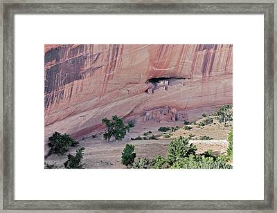 Canyon De Chelly Junction Ruins Framed Print by Christine Till