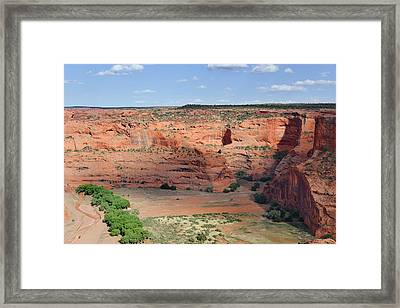 Canyon De Chelly Near White House Ruins Framed Print