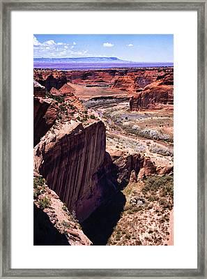 Canyon De Chelly Framed Print by Thomas R Fletcher