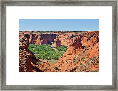 Canyon De Chelly - Tunnel Overlook Framed Print by Christine Till