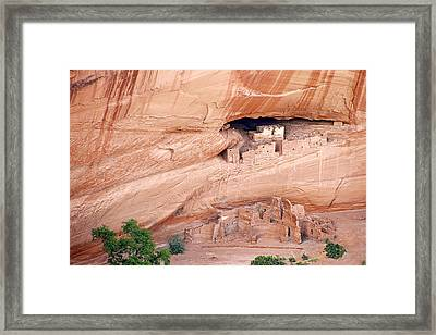 Canyon De Chelly White House Ruins Framed Print by Christine Till