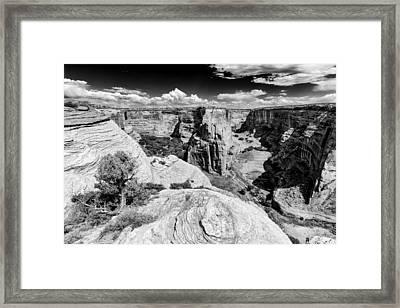 Canyon Del Muerto Canyon De Chelly Navajo Nation Chinle Arizona Framed Print by Silvio Ligutti