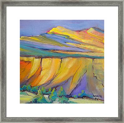 Canyon Dreams 33 Framed Print by Pam Van Londen