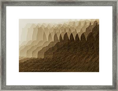 Canyon Dreams Framed Print
