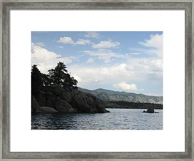 Canyon Ferry Lake Framed Print by Kristi Helsper