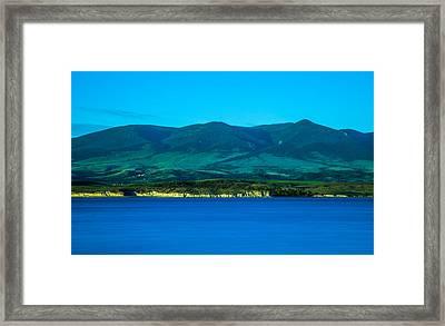 Canyon Ferry Lake Framed Print by Scott Mestrezat