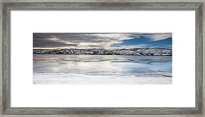 Canyon Ferry Reservoir Framed Print by Fran Riley