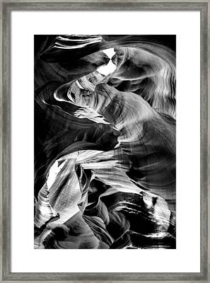 Canyon Flow Framed Print