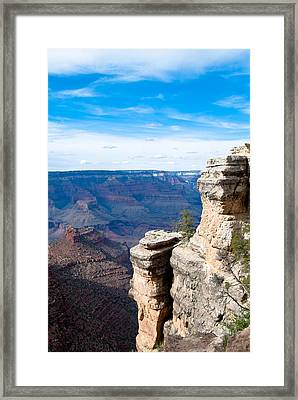 Canyon For Miles Framed Print by Nickaleen Neff
