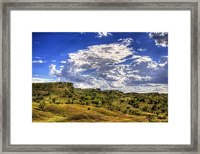 Canyon Glow Framed Print