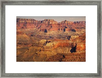 Canyon Grandeur 2 Framed Print