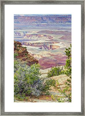 Canyon Lands Framed Print