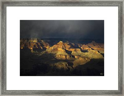 Canyon Light Framed Print by Peter Coskun