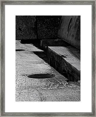 Canyon Framed Print by Odd Jeppesen