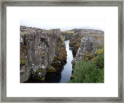 Canyon Of Dreams Framed Print