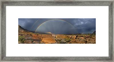 Canyon Of The Gods - Craigbill.com - Open Edition Framed Print by Craig Bill