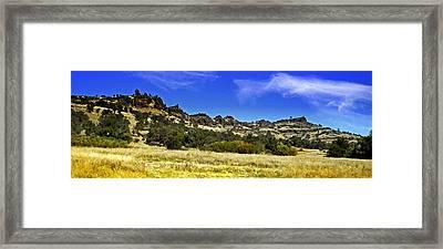 Canyon Panorama Framed Print