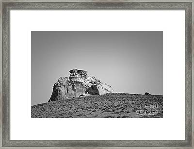 Canyon Point Utah IIi Framed Print by Dave Gordon