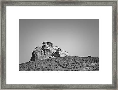 Canyon Point Utah IIi Framed Print by Dave Gordon