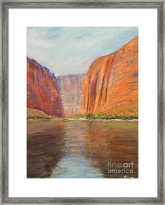 Canyon River Passage Framed Print