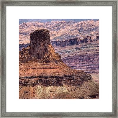 Canyonlands Framed Print by Ryan Heffron