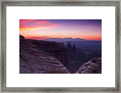 Canyonlands Sunrise Framed Print