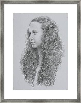 Caoimhe Framed Print by Tomas OMaoldomhnaigh