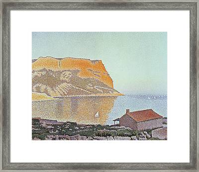 Cap Canaille Framed Print