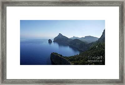 Cap De Formentor Framed Print by John Chatterley